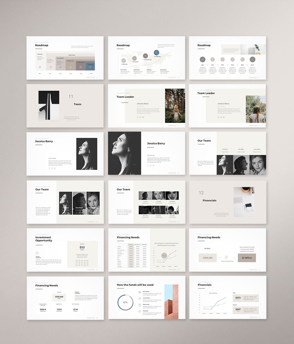 Pitch Deck PowerPoint Template 6