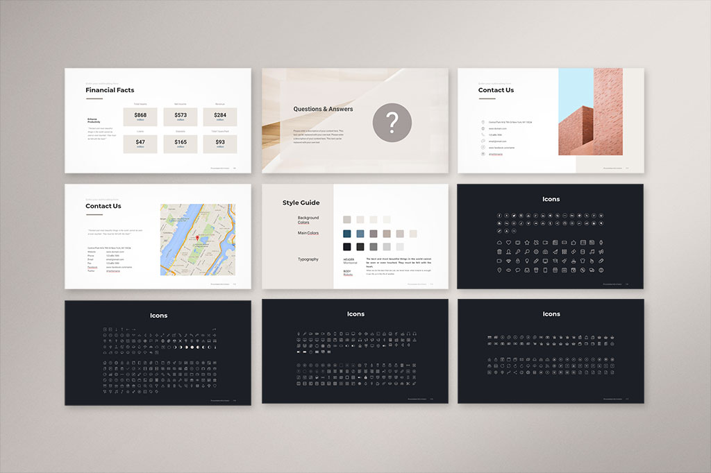 Pitch Deck PowerPoint Template 7