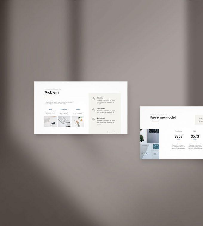 Pitch Deck Presentation Template 2