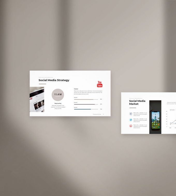 Social Media Strategy Template Preview 2