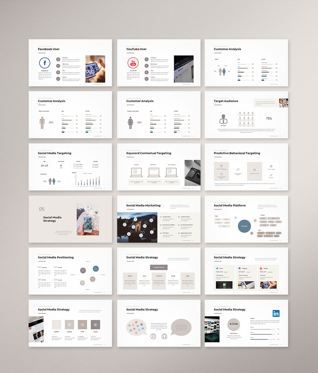 Social Media Strategy Template Preview 04