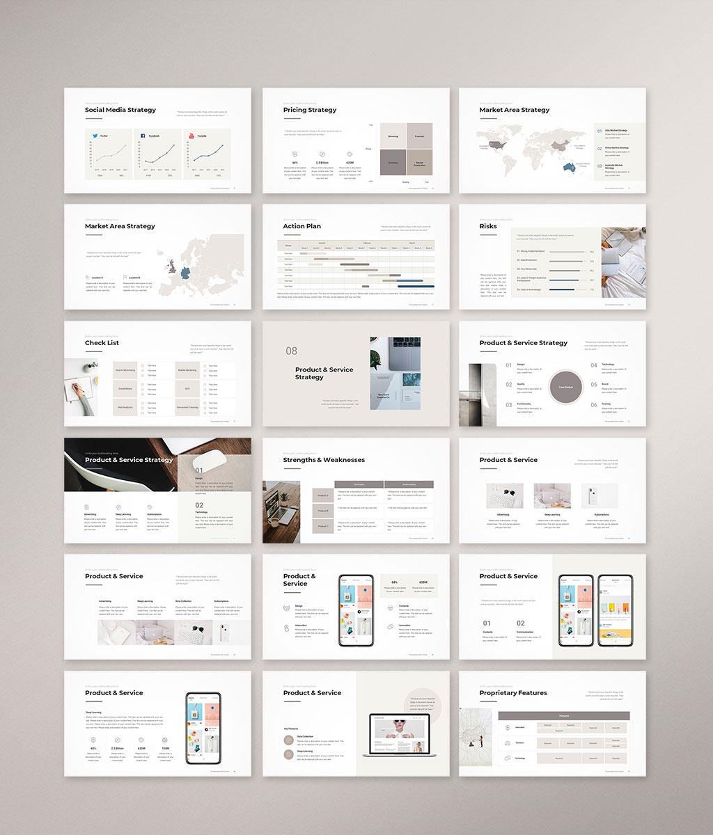 Marketing Plan Presentation Template Preview005