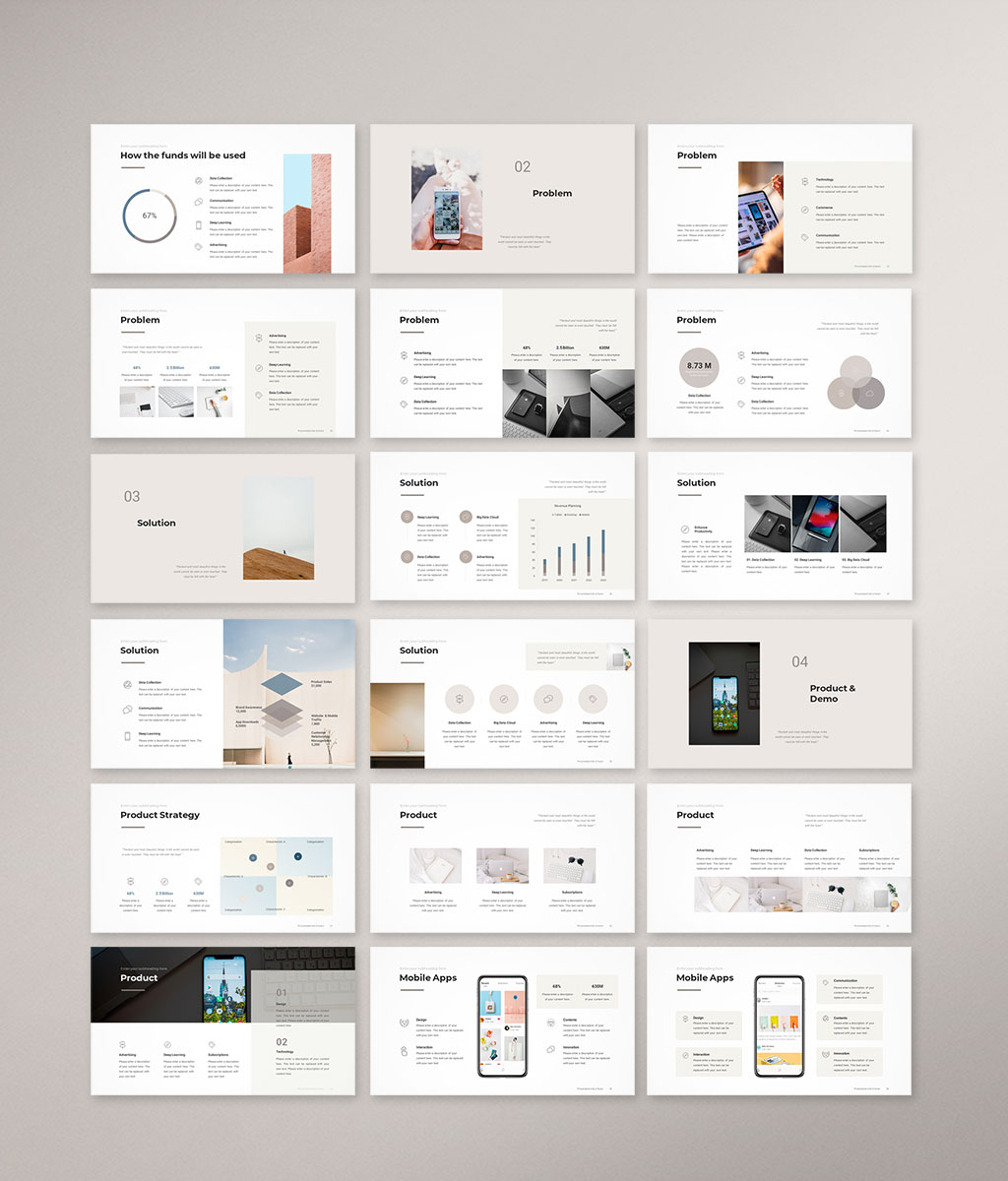 Pitch Deck PowerPoint Template 2