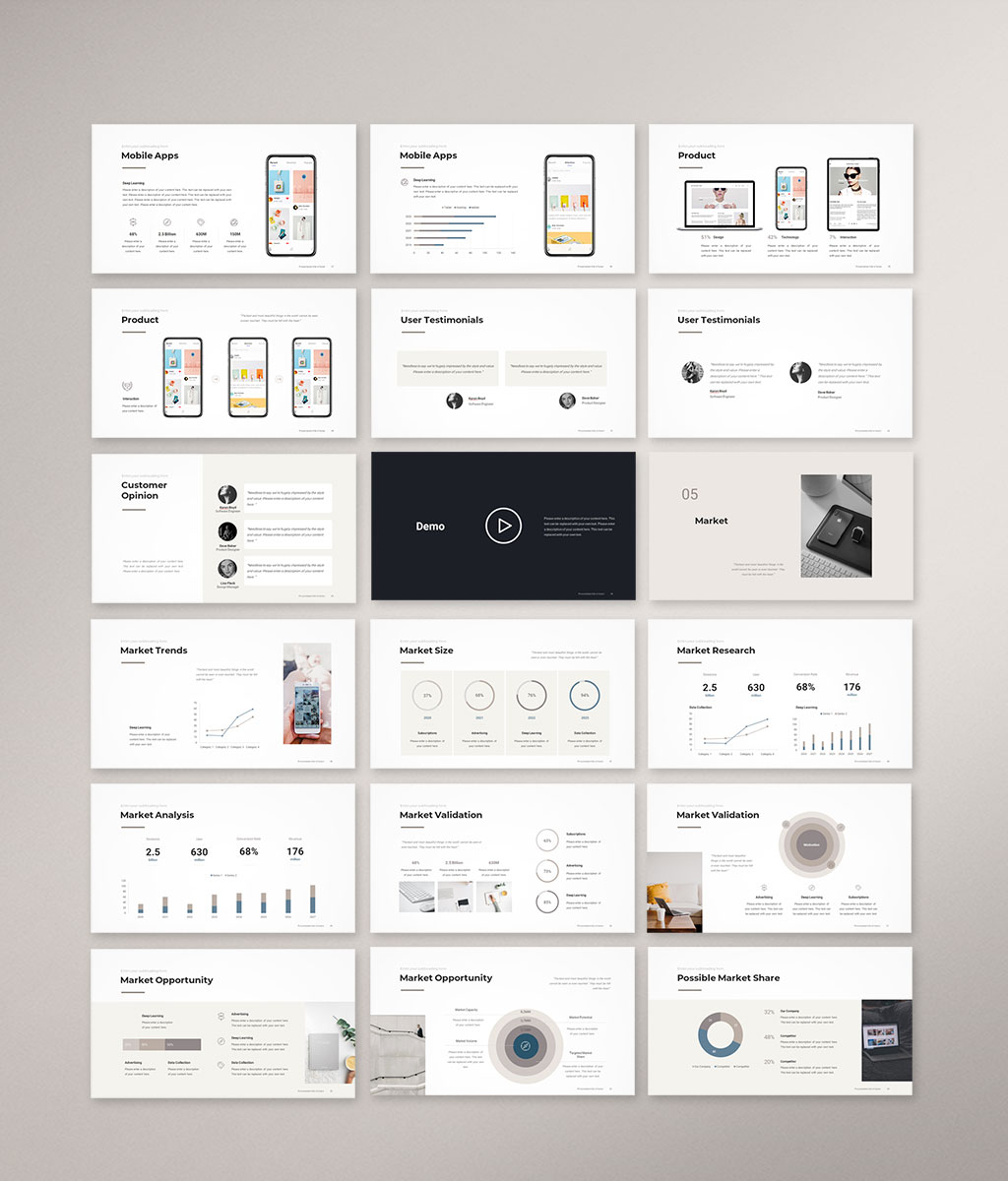 Pitch Deck PowerPoint Template 3