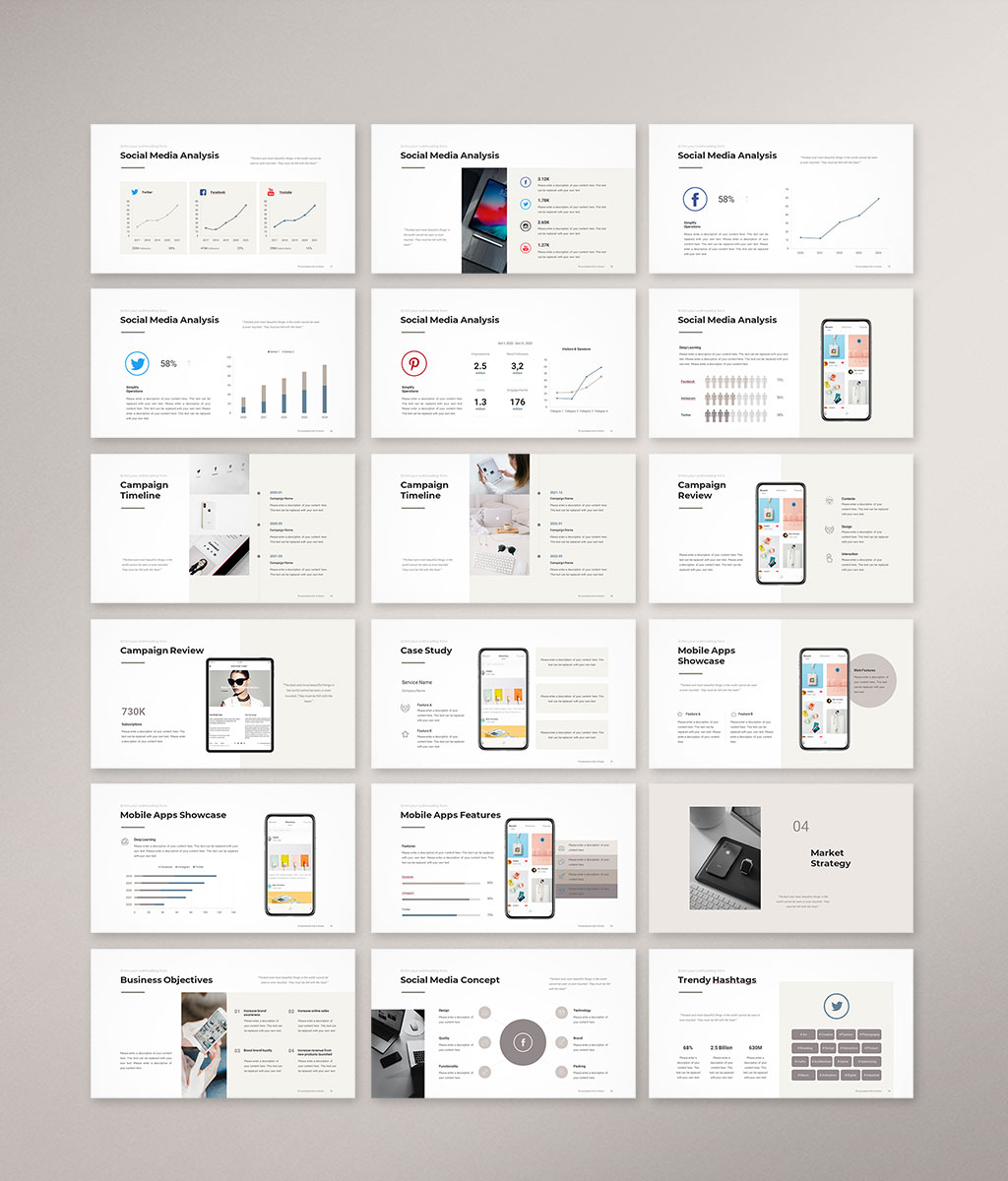 Social Media Strategy Template Preview 03