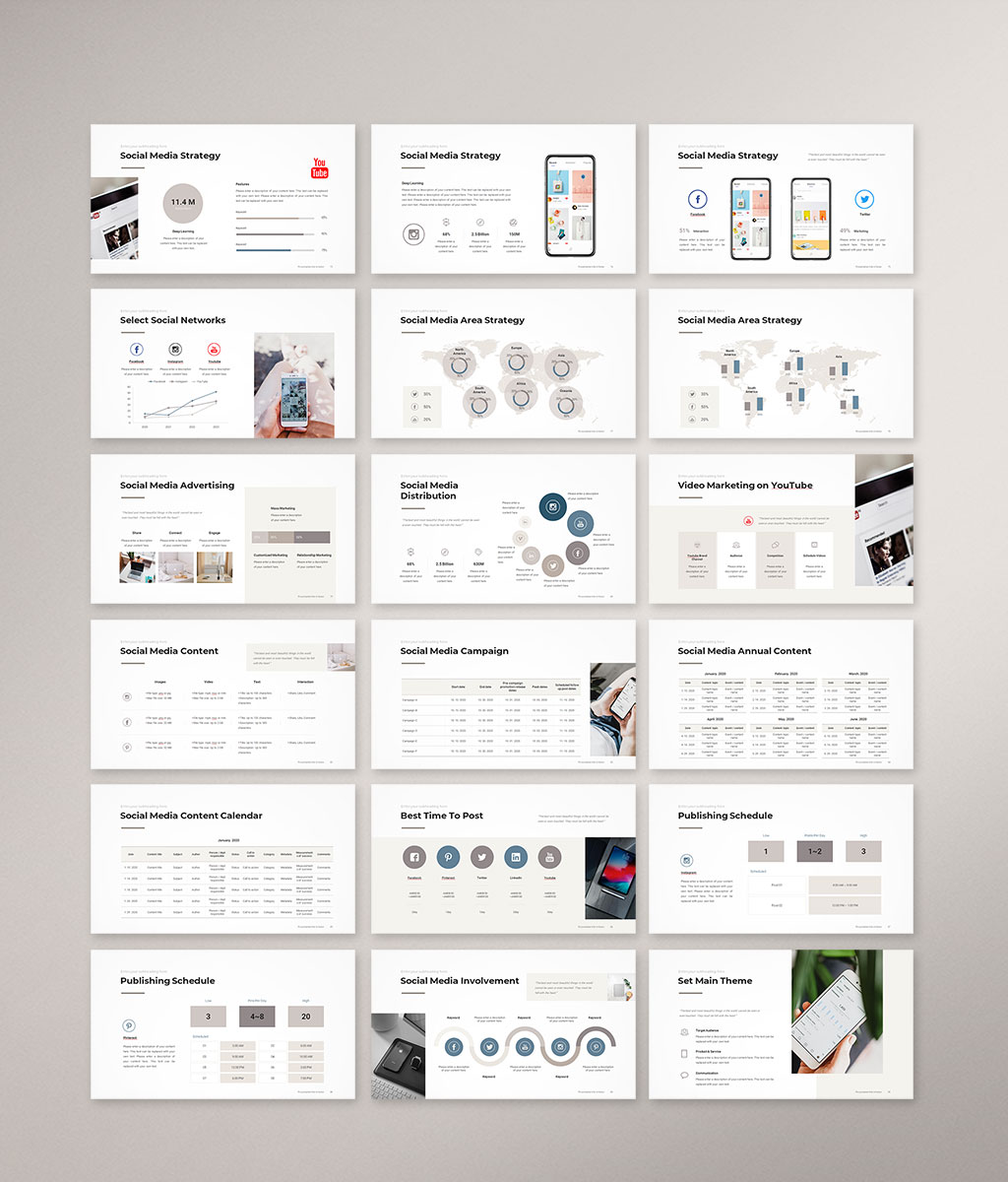 Social Media Strategy Template Preview 05