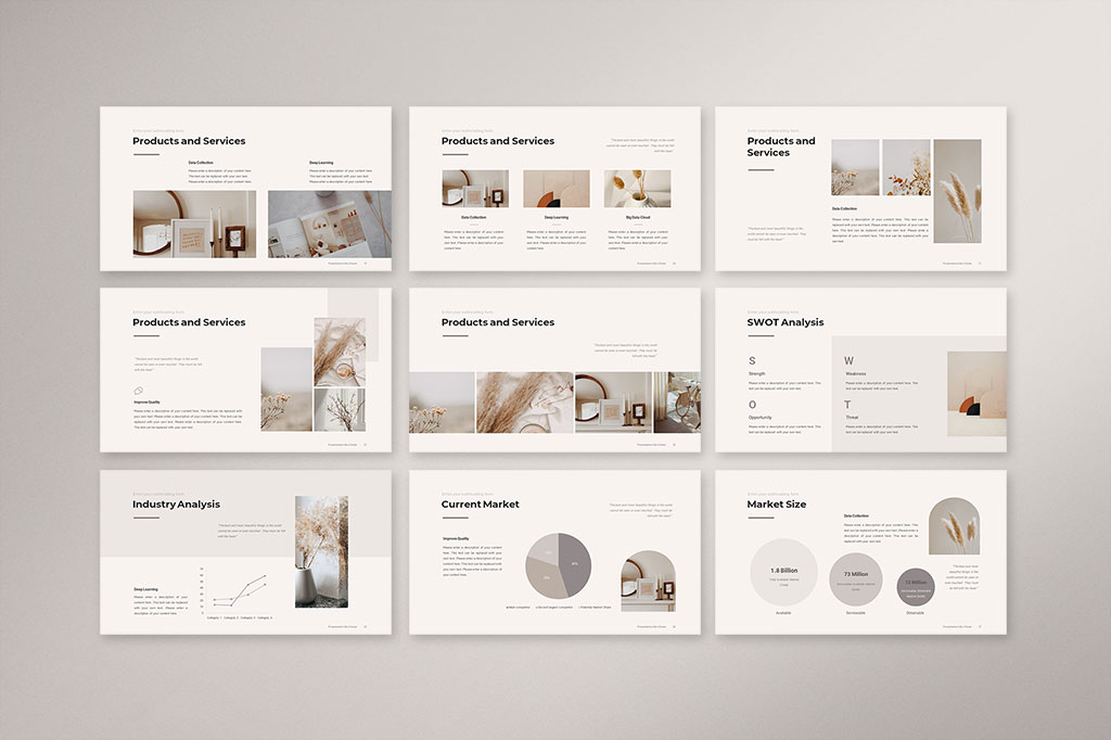 Business Strategy Presentation Template Preview 3