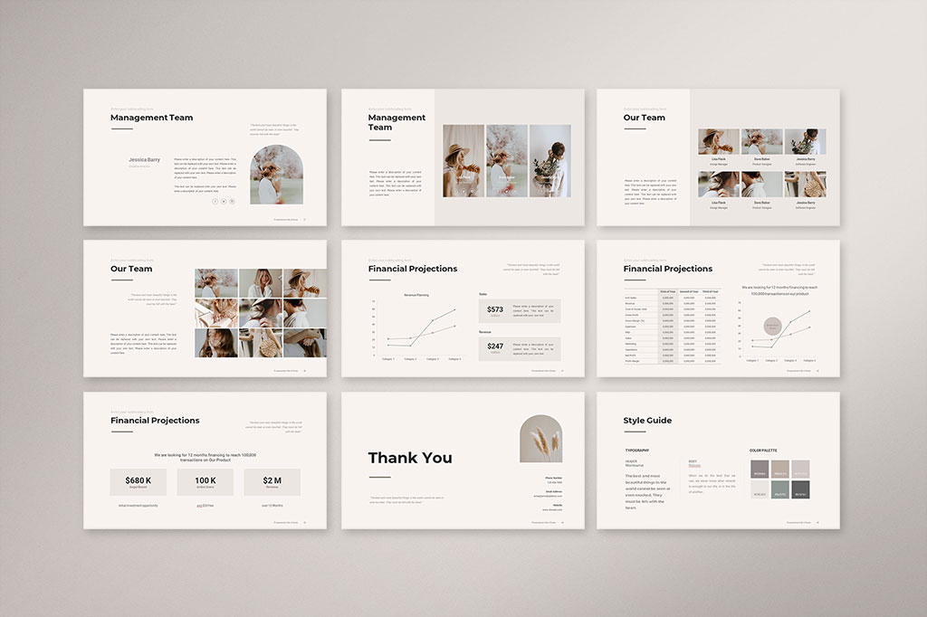 Business Strategy Presentation Template Preview 5