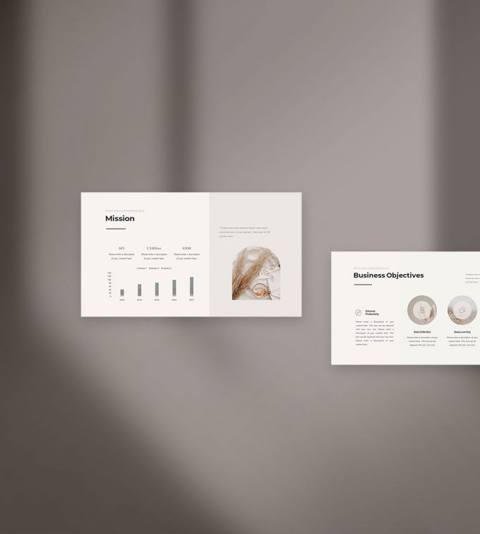 Business Strategy Presentation Template Cover2