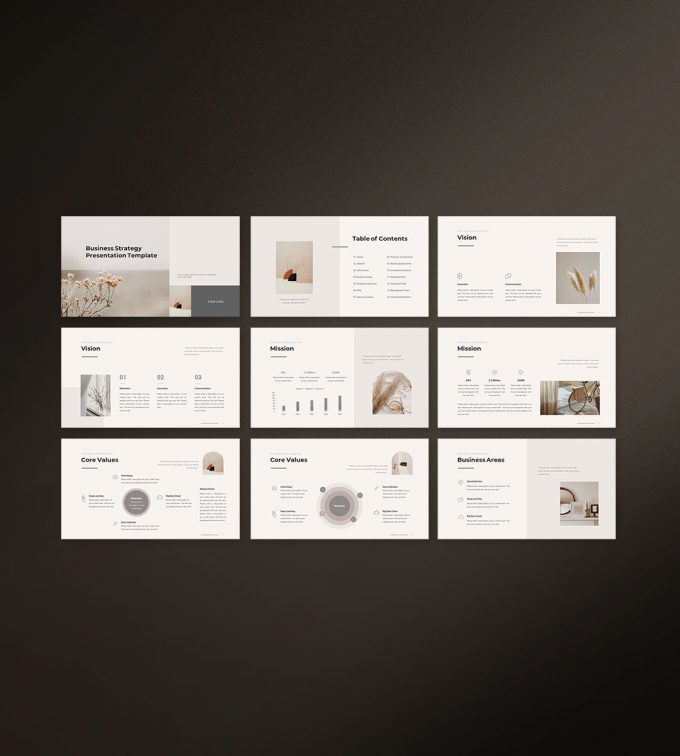 Business Strategy Template Preview 01