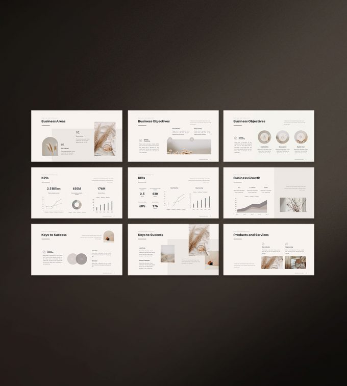Business Strategy Template Preview 02