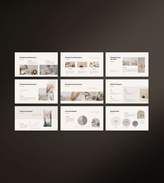 Business Strategy Template Preview 03