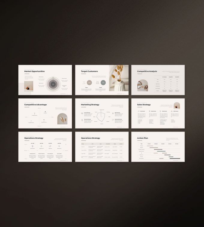Business Strategy Template Preview 04
