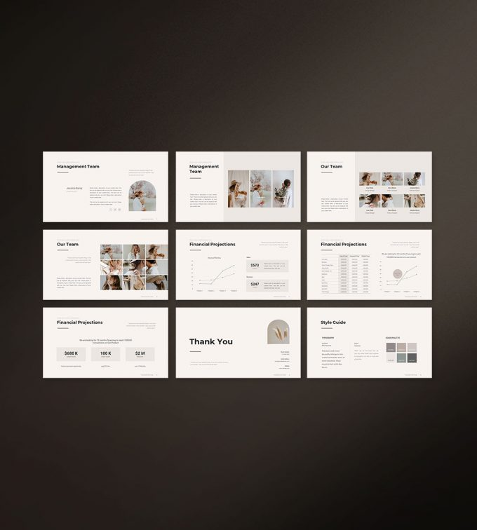 Business Strategy Template Preview 05